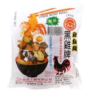 只吃歷史最悠久的黑雞牌雞絲麵