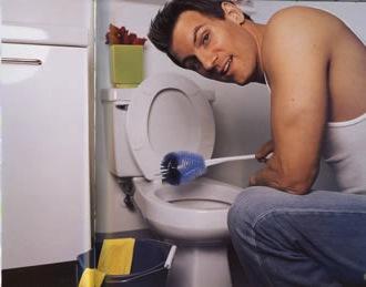 man-toilet