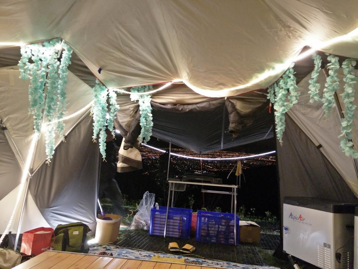 宜蘭露營趣,風大雨大-鷗漫景觀營
